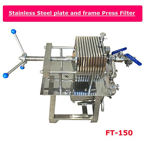 Stainless Steel Filter Press Filter Slag Machine Laboratory Filtration Equipment