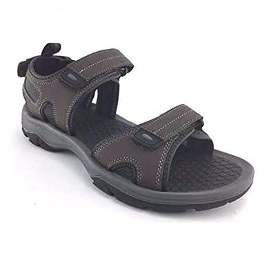 Khombu Men's Barracuda Sport Sandals Black | Sport Sandals & Slides