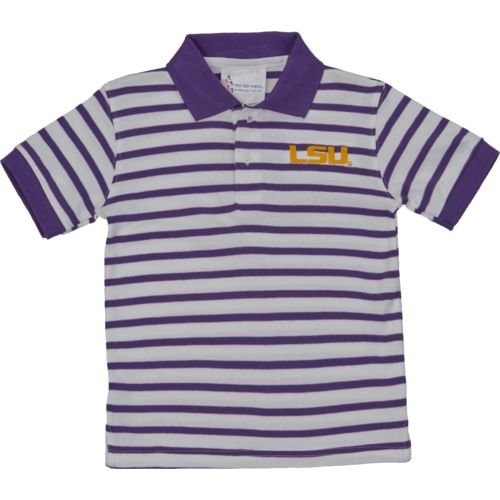 Tiger Striped Polo Shirt - LSU Tigers Toddler Striped Polo Shirt (2T)