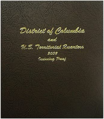 Dansco Coin Album # 8144 For Statehood Quarters W// Proofs From 2004-2008 NEW!!!