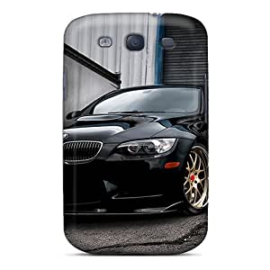 Galaxy S3 Hard Back With Bumper Silicone Gel Tpu Case Cover Bmw M3