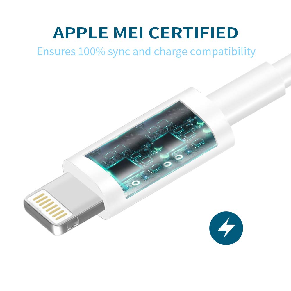 MBYY MFi Certified iPhone Charger