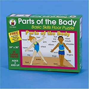 Parts of the Body - Floor Puzzle