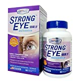 US Clinicals™ StrongEye™ Ultimate Eye Care • Lutein + Zeaxanthin + DHA + Herbal Extracts + Vitamins + Minerals + Amino Acids • 20 Clinically Researched Nutrients • 60 Softgels