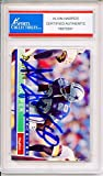 Alvin Harper Autographed Dallas Cowboys Encapsulated Trading Card