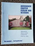 img - for Adirondack Chapter Korean War Veterans Memorial Dedication Ceremony, June 25, 1994 book / textbook / text book