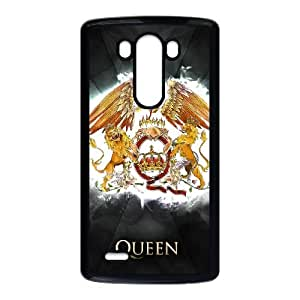 LG G3 Cell Phone Case Black Queen Band 004 WON6189218969003