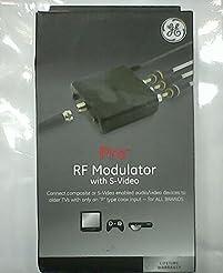 GE Pro Series RF Modulator with S-Video,...