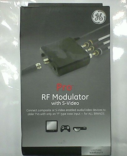 GE 38806 PRO RF Modulator S- Video - S-video Modulator