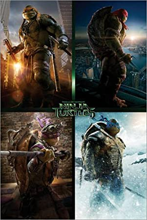 Póster Ninja Turtles Movie - Quad - cartel económico, póster ...