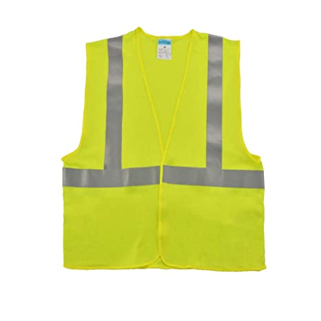 Yellow AA High Visibility Vest for safety and emergencies