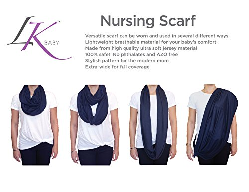 Baby Infinity Nursing Scarf Breastfeeding