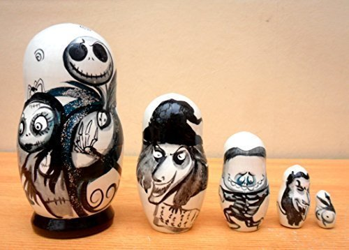 "Russian nesting Doll ""The Nightmare before Christmas"" for sale  Delivered anywhere in USA"