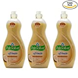 Palmolive Soft on Hands & Soft on Nails Utra Soft Touch With Coconut butter Dishwashing Liquid Soap Detergent, 25 Oz Pack of 3, (25 Oz x 3, Total 75 Oz)