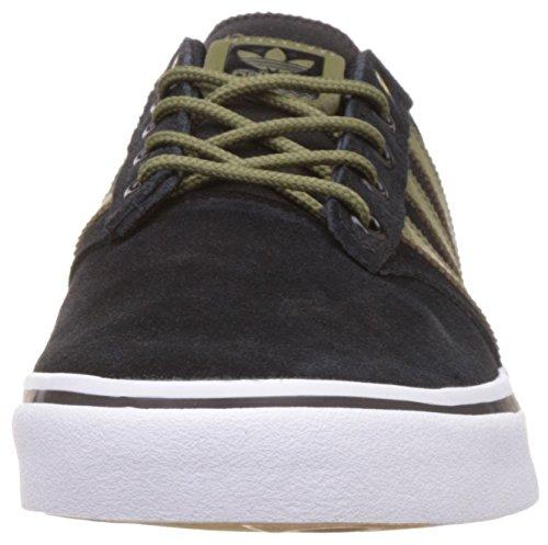 Adidas Sneaker Uomini Seeley Prima B27369 Schwarz Khaki