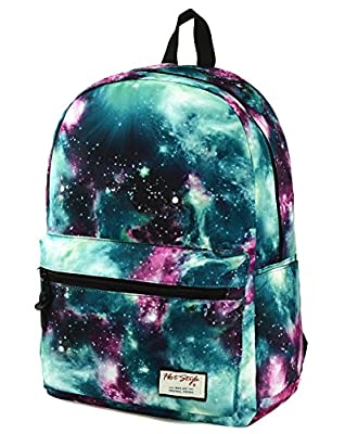 80bbba568e40  HotStyle Fashion Printed  TrendyMax Galaxy Pattern School Backpack Cute  for Girls