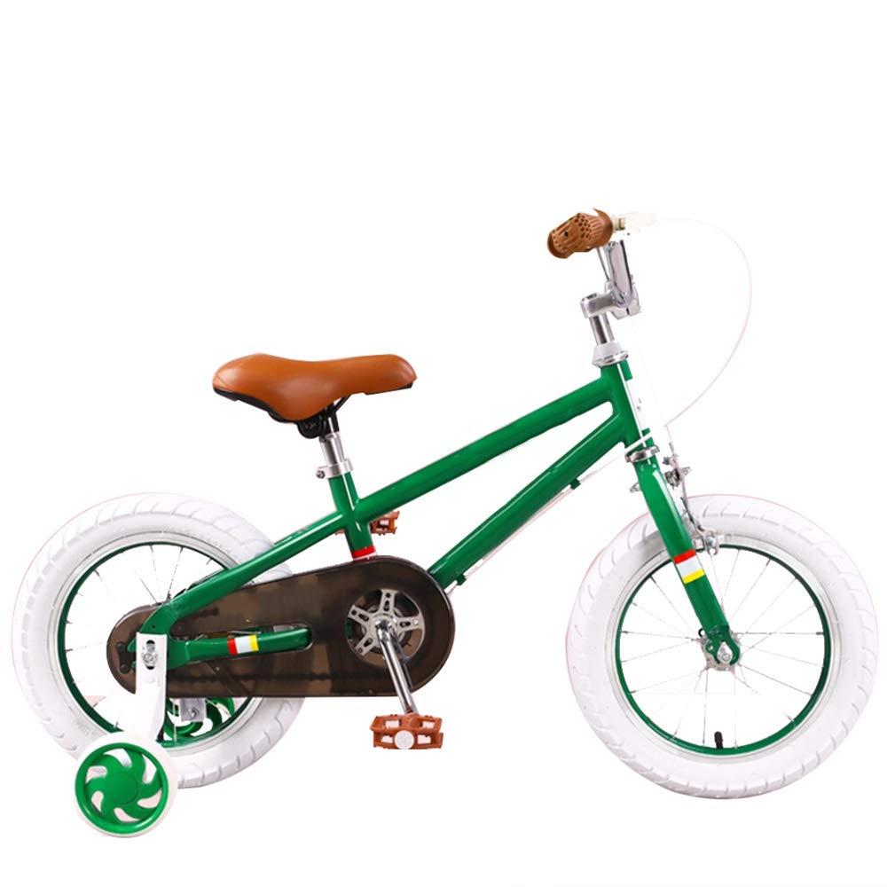 【通販激安】 Axdwfd Green 子ども用自転車 16インチキッズバイク、子供用自転車、トレーニングホイール付きギフト35歳の男の子と女の子用イエローグリーン 子ども用自転車 Green B07PR8WFLG B07PR8WFLG, 九州有田:陶磁館イマジンハウス:ef369695 --- senas.4x4.lt