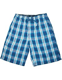 Men's Cotton Madras Drawstring Sleep Pajama Shorts