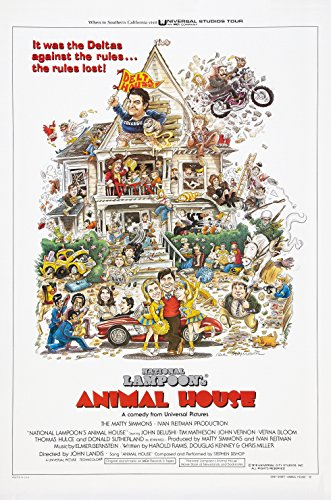 National Lampoon's ANIMAL HOUSE (1978) Movie Poster John Belushi (John Belushi Animal House Poster)