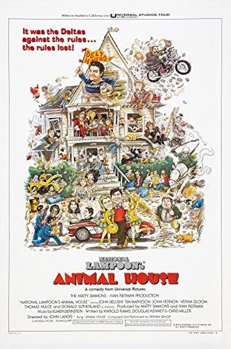 National Lampoon's ANIMAL HOUSE  Movie Poster John Belushi 2
