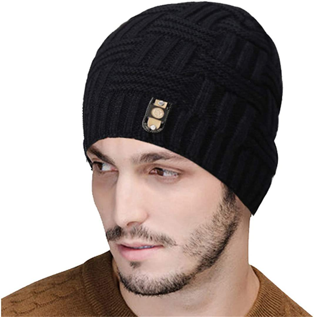 ZHENYSHKD Winter Beanies Bonnet Knit Hat Men Winter Hats for Men Women Beanie Skullies Warm Hats