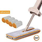 Aktetur Professional Microfiber Mop/Sweeper Cleaner Dry and Wet Mop/Stainless Steel Handle Mop for All Sorts of floor-Wooden Floor-Tiles Mop