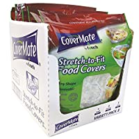 Deals on 48-Count CoverMate Stretch-To-Fit Food Covers