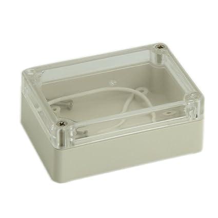Cikuso 85x58x3m Cubierta transparente impermeable Caja de ...