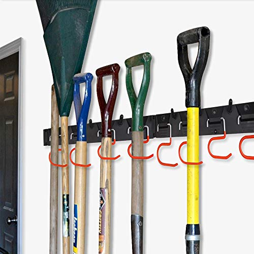 Wall-mount tool organizer