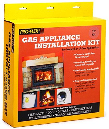 Tru-Flex Metal Hose PFSAGK-2000 Single Appliance Gas Kit