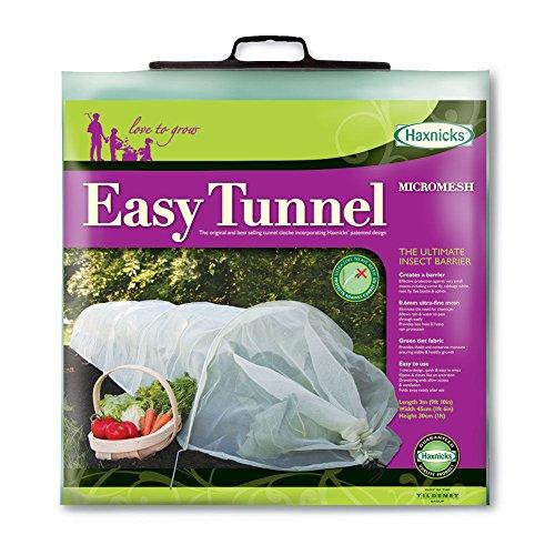 Tierra Garden 50-5040 Haxnicks Easy Micromesh Tunnel Garden Cloche, Standard -