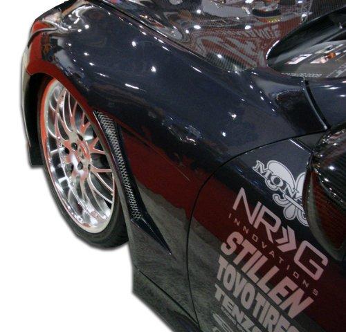 Concept Fenders Gt Duraflex (2008-2015 Infiniti G Coupe G37 Q60 Duraflex GT Concept Fenders - 2 Piece)