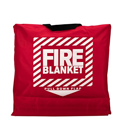 Pac-Kit by First Aid Only 21-650 Woolen Fire Blanket in Nylon Pouch ()