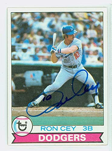 Ron Cey AUTOGRAPH 1979 Topps #190 Los Angeles Dodgers ()