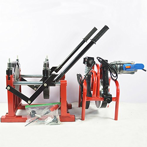 2.48-7.87 Hand-push Pipe Welder PE PPR PB PVDF HDPE Fusion Welding Machine