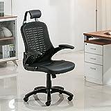EuroStile High Back Ergonomic Office Mesh Chair Black