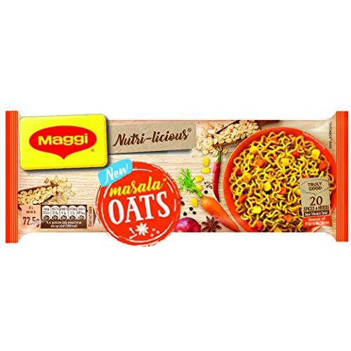 Maggi Nutri-Licious Oats Masala Noodles, 300 grams - 10.58 oz pack, Vegetarian, India