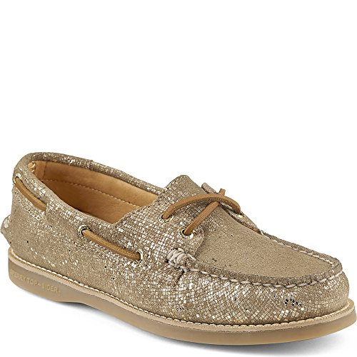 Platforms Lambskin Leather (Sperry Men's Gold Cup Gold Leather Welt Boat Shoe - 9 B(M) US)