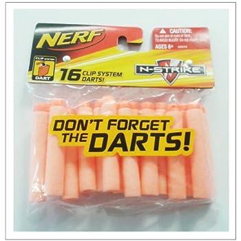 Nerf Clip System N-strike Ammo Darts - 16 Pack