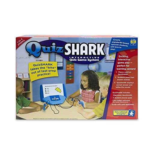 Educational Insights Quiz Shark - Card Game Using Quizshark Software Interactive Quiz System (The Halloween Quiz Games)