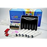 ecocolor CISS CIS Continuous ink system FOR EPSON ink Cartridges T0981 T0986 FOR Epson Artisan 600 700 710 725 800 810 835