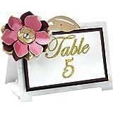 Sizzix Thinlits Die Set, Table Tent, Floral, 4-Pack