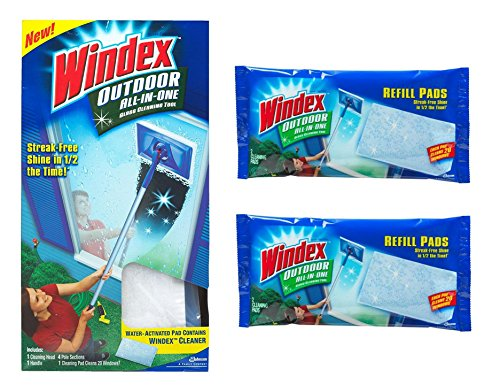 UPC 791484312320, Windex All-in-One Variety Pack, 1 All-in-One Starter Kit, 2 All-in-One Refill , 1 CT