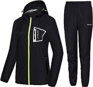 HOTSUIT Sauna Suit Women Weight Loss Durable Boxing Sweat Suits Workout Jacket