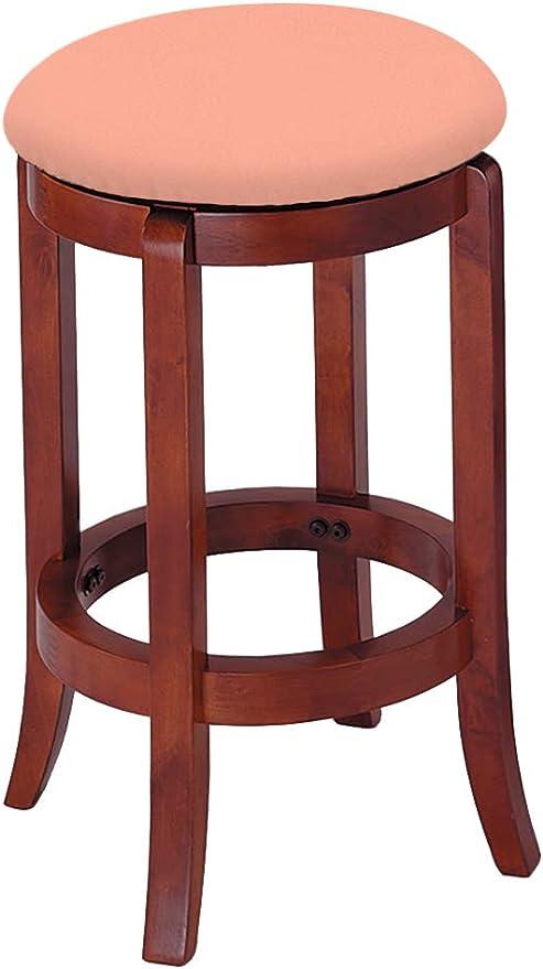 Amazon.com: The Furniture Cove Bar Stool Wood Cherry Finish ...