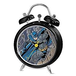 Dc Comics Batman Mini Twin Bell Alarm Clock