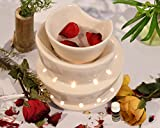 Collectible India Ceramic Electric Aroma Diffuser Essential Oils Burner Scented Aromatherapy Air Purifier With 10 ml Aroma Oil