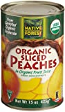 Native Forest Organic Sliced Peaches, 15-Ounce Cans (Pack of 6)