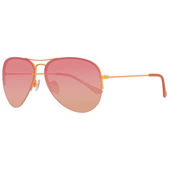 BENETTON BE922S06, Gafas de Sol Unisex, Orange, 60: Amazon ...