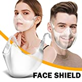 KangCat 2PC Transparent_Face_Mask Visor Upgraded